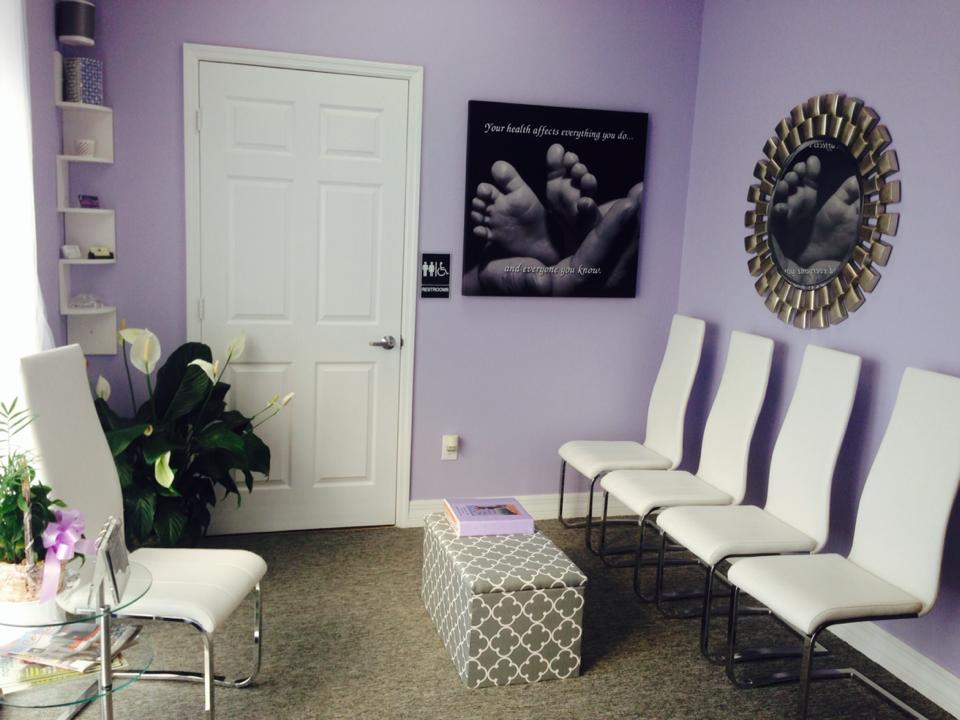 Fort Myers Chiropractic Studio Waiting Room